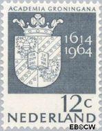 Nederland NL 816  1964 Universiteit Groningen 12 cent  Gestempeld