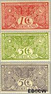 Nederland NL 84#86  1906 Tuberculosebestrijding  cent  Gestempeld