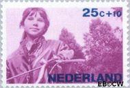 Nederland NL 873  1966 Levensstadia kind 25+10 cent  Gestempeld