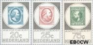 Nederland NL 886#888  1967 Postzegeltentoonstelling Amphilex  cent  Gestempeld