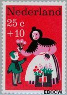 Nederland NL 897  1967 Kinderversjes 25+10 cent  Gestempeld