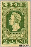 Nederland NL 90  1913 Onafhankelijkheid 2½ cent  Postfris