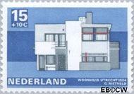 Nederland NL 921  1969 Architectuur 15+10 cent  Gestempeld