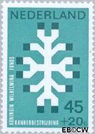 Nederland NL 929  1969 Kankerbestrijding 45+20 cent  Gestempeld