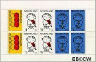Nederland NL 937  1969 Kind en muziek  cent  Gestempeld