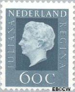 Nederland NL 947  1969 Koningin Juliana- Type 'Regina' 60 cent  Gestempeld