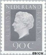 Nederland NL 951  1975 Koningin Juliana- Type 'Regina' 90 cent  Postfris