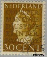 Nederland NL D19  1940 Cour Permanente de Justice 30 cent  Gestempeld
