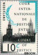 Nederland NL D45  1989 Cour Internationale de Justice 10 cent  Gestempeld