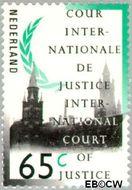 Nederland NL D50  1989 Cour Internationale de Justice 65 cent  Gestempeld