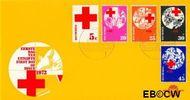 Nederland NL E121  1972 Rode Kruis  cent  FDC zonder adres