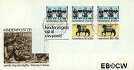 Nederland NL E144a  1975 Gevelstenen  cent  FDC zonder adres