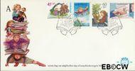 Nederland NL E189  1980 Kind en boeken  cent  FDC zonder adres