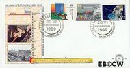 Nederland NL E266  1989 Spoorwegen  cent  FDC zonder adres