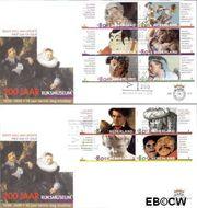 Nederland NL E417  2000 Rijksmuseum  cent  FDC zonder adres