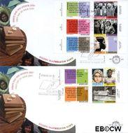 Nederland NL E431  2001 Tussen twee culturen  cent  FDC zonder adres