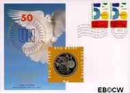 Nederland NL ECU006  1995 U.N.O.  cent  Postfris