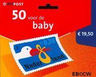 Nederland NL HBa2047A  2002 Geboorte- zegel 39 cent  Postfris