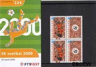 Nederland NL M224  2000 EK voetbal  cent  Postfris