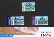 Nederland NL M248  2001 Eurozegels  cent  Postfris
