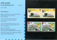 Nederland NL M47  1987 C.E.P.T.- Moderne architectuur  cent  Postfris