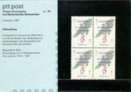 Nederland NL M50  1987 Vereniging Ned. Gemeenten  cent  Postfris