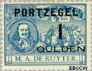 Nederland NL P43  1907 Portzegel 100 op ½ cent  Gestempeld
