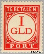 Nederland NL P79  1921 Portzegel 100 cent  Gestempeld