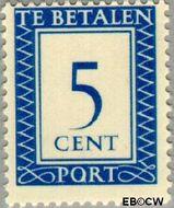 Nederland NL P83  1947 Portzegel 5 cent  Gestempeld