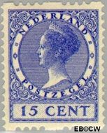 Nederland NL R12  1925 Type 'Veth' 15 cent  Gestempeld