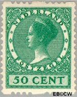 Nederland NL R17  1925 Type 'Veth' 50 cent  Gestempeld