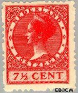 Nederland NL R43  1928 Type 'Veth' 7½ cent  Gestempeld