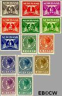 Nederland NL R57#R70  1930 Type 'Veth'  cent  Gestempeld