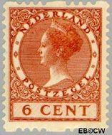 Nederland NL R7  1925 Type 'Veth' 6 cent  Gestempeld