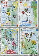 Nederlandse Antillen NA 1611#1614  2005 Sport 500 cent  Postfris