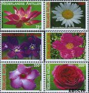 Nederlandse Antillen NA 1888#1893  2009 Bloemen  cent  Postfris