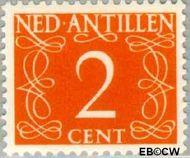 Nederlandse Antillen NA 213  1950 Type 'van Krimpen' 2 cent  Gestempeld