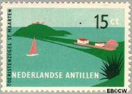 Nederlandse Antillen NA 263  1957 Toerisme 15 cent  Gestempeld