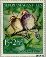 Nederlandse Antillen NA 273  1958 Vogels 15+2½ cent  Gestempeld
