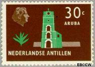 Nederlandse Antillen NA 283  1958 Landschappen 30 cent  Gestempeld
