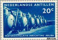 Nederlandse Antillen NA 303  1959 Waterdistillatie 20 cent  Gestempeld