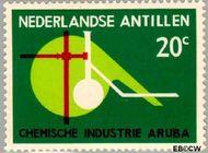 Nederlandse Antillen NA 344  1964 Inbedrijfsstelling chemische industrie 20 cent  Gestempeld