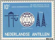 Nederlandse Antillen NA 354  1965 I.T.U. 10 cent  Gestempeld
