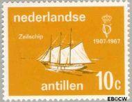 Nederlandse Antillen NA 381  1967 Vereniging 'Onze Vloot'  cent  Postfris