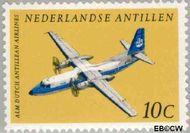 Nederlandse Antillen NA 404  1968 Vliegtuigen 25+11 cent  Gestempeld