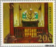 Nederlandse Antillen NA 424  1970 Kerken 20 cent  Gestempeld