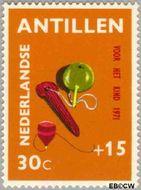 Nederlandse Antillen NA 444  1971 Speelgoed 30+15 cent  Gestempeld