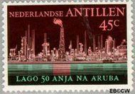 Nederlandse Antillen NA 494  1974 Olie-industrie 45 cent  Gestempeld