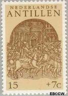 Nederlandse Antillen NA 504  1975 Ornamenten 15+7 cent  Gestempeld