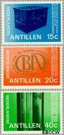 Nederlandse Antillen NA 573#575  1978 Bank Nederlandse Antillen  cent  Gestempeld